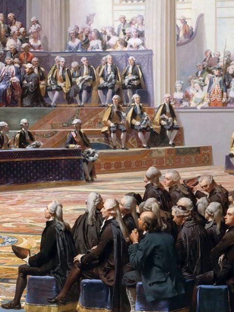 Ouverture des États généraux en 1789.