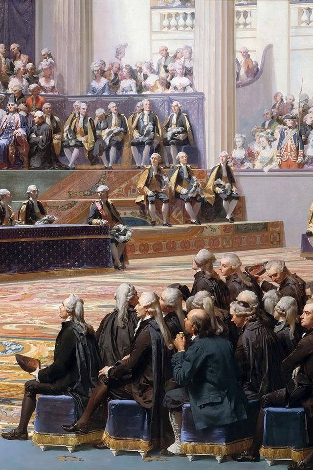 Ouverture des États généraux à Versailles, 5 mai 1789