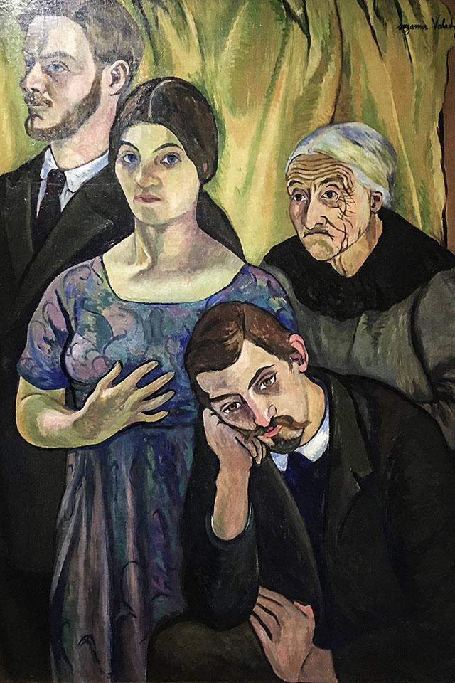 Portrait de famille, 1912, Suzanne Valadon