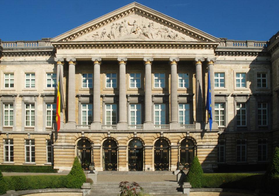 Palais de la Nation, siège du parlement fédéral de Belgique