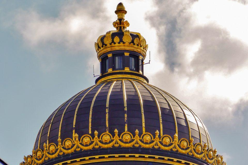 Palais de justice de Bruxelles, détail de la coupole