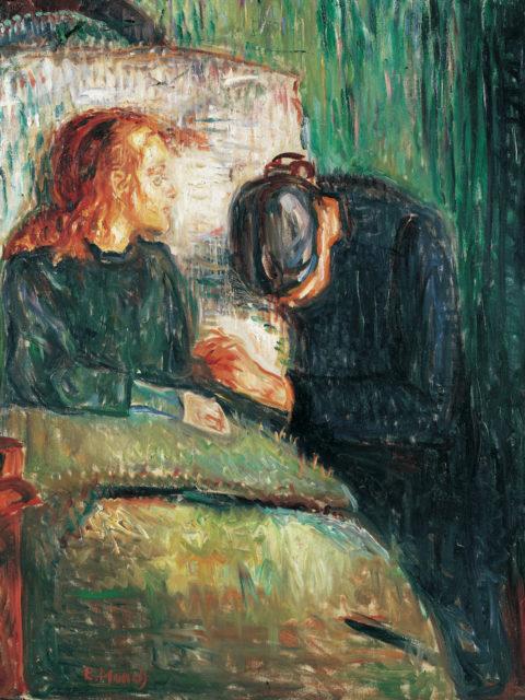 Edvard Munch, Det syke barn (L'Enfant malade)